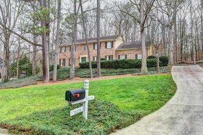 Sandy Springs Single Family Home For Sale: 9370 Huntcliff Trace
