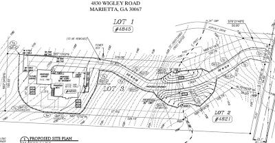 Marietta Residential Lots & Land For Sale: 4830 Wigley Road
