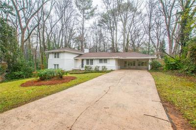 Sandy Springs Single Family Home For Sale: 630 Patrick Place