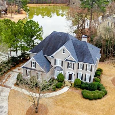 Johns Creek Single Family Home For Sale: 6095 Sweet Creek Road