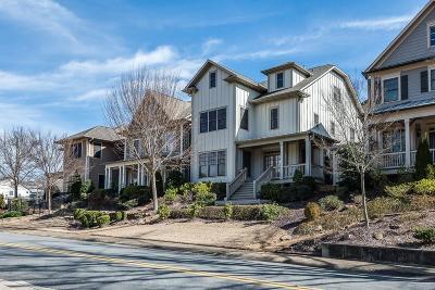 Marietta Single Family Home For Sale: 125 Manget Street SE