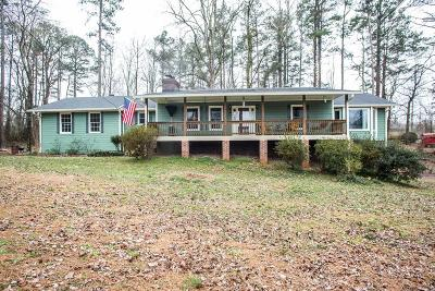 Kennesaw Single Family Home For Sale: 3659 Old Stilesboro Road NW