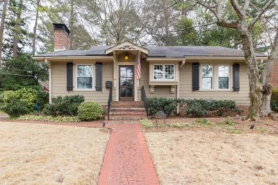 Single Family Home For Sale: 1855 Flagler Avenue NE