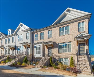 Sandy Springs Condo/Townhouse For Sale: 4234 Deming Circle