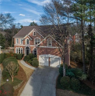 Sandy Springs Single Family Home For Sale: 4560 Windsor Gate Court
