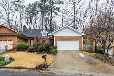 Brookhaven Single Family Home For Sale: 1191 Dorby Park Drive NE