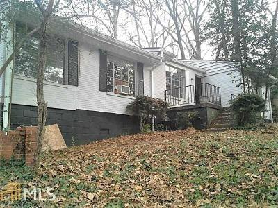 Decatur Single Family Home For Sale: 221 Scott Boulevard