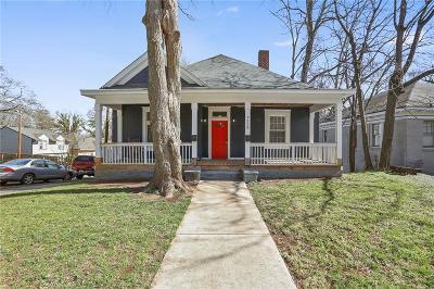 Atlanta Single Family Home For Sale: 528 Holderness Street SW