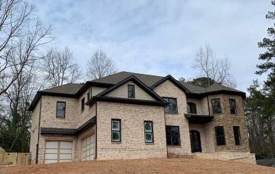 Marietta Single Family Home For Sale: 2635 Indian Lake Drive