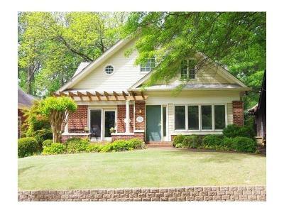 Virginia Highland Condo/Townhouse For Sale: 727 Brookridge Drive NE