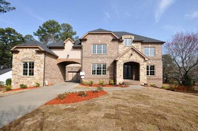 Alpharetta Single Family Home For Sale: 1410 Rucker Road