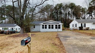 Decatur Single Family Home For Sale: 4224 Hanes Drive