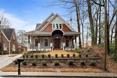 Peachtree Hills Single Family Home For Sale: 219 Lindbergh Drive