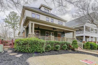 Smyrna Single Family Home For Sale: 1564 Spring Street SE