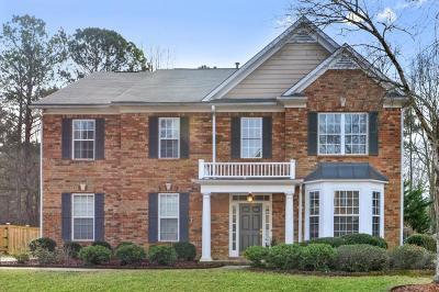 Marietta Single Family Home For Sale: 2454 Hampton Park Way