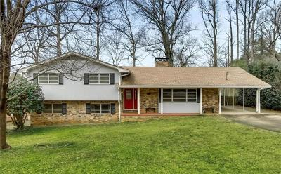Atlanta Single Family Home For Sale: 1892 Mount Royal Drive NE