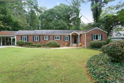 Pine Hills Single Family Home For Sale: 2905 W Roxboro Road NE