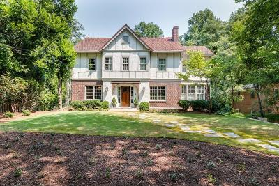 Atlanta Single Family Home For Sale: 676 E Morningside Drive NE