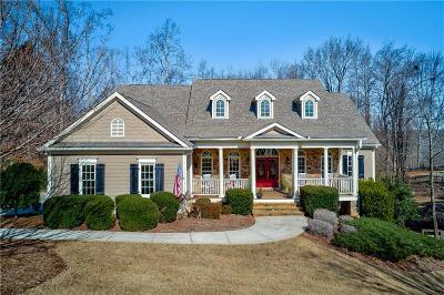 Dawsonville Single Family Home For Sale: 7370 Sawgrass Drive