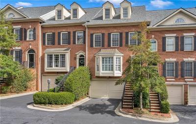 Condo/Townhouse For Sale: 1735 Peachtree Street NE #608