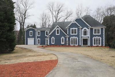 Marietta Single Family Home For Sale: 286 Powers Place NE