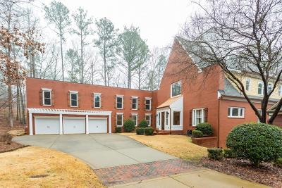 Alpharetta Single Family Home For Sale: 160 Stone Pond Lane