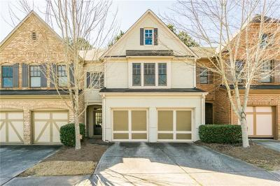 Alpharetta Condo/Townhouse For Sale: 1360 Faircrest Lane