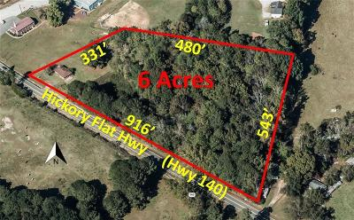 Canton GA Residential Lots & Land For Sale: $650,000