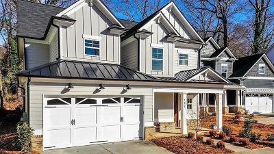 Atlanta Single Family Home For Sale: 167 Candler Road SE