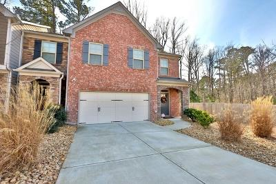 Snellville Condo/Townhouse For Sale: 2952 Mell Rise Way
