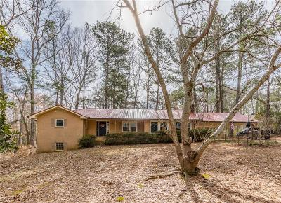 Alpharetta Single Family Home For Sale: 15445 Thompson Road