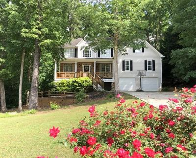 Hoschton Single Family Home For Sale: 1021 Andover Drive