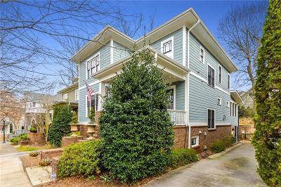 Atlanta Single Family Home For Sale: 390 Sutherland Place NE