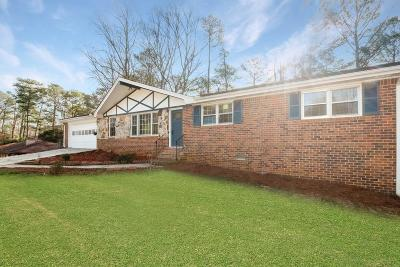 Lilburn Single Family Home For Sale: 158 Jennifer Lane NW