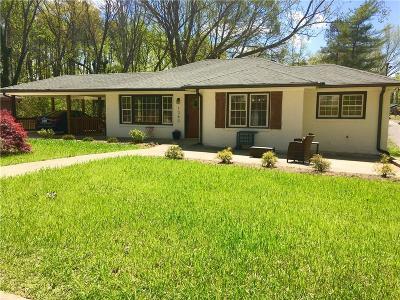 Atlanta Single Family Home For Sale: 1343 Lochland Road SE
