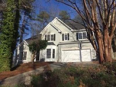 Alpharetta Single Family Home For Sale: 110 Ashewoode Downs