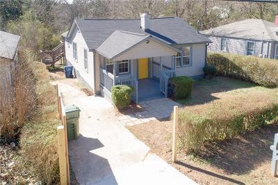 Atlanta Single Family Home For Sale: 1346 Akridge Street NW