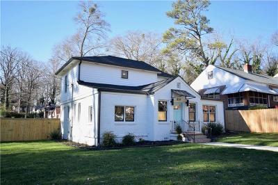 Atlanta GA Single Family Home For Sale: $356,999