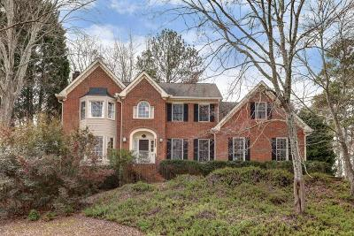 Peachtree Corners Single Family Home For Sale: 4594 Capers Crossing W