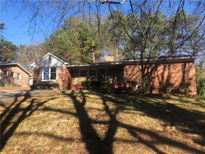 Atlanta Single Family Home For Sale: 162 Florida Avenue SW