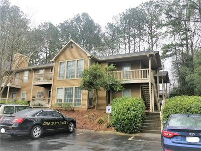 Smyrna Condo/Townhouse For Sale: 1605 Country Park Drive SE