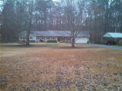 McDonough Single Family Home For Sale: 3150 E Fairview Road