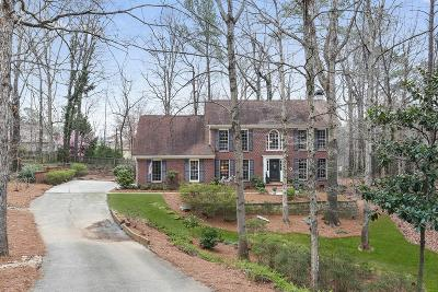 Roswell Single Family Home For Sale: 11745 Highland Colony Drive