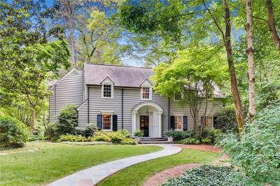Atlanta Single Family Home For Sale: 490 Westover Drive NW