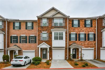 Kennesaw Condo/Townhouse For Sale: 394 Heritage Park Trace NW