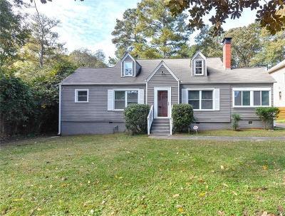 Atlanta Single Family Home For Sale: 355 Ashburton Avenue SE