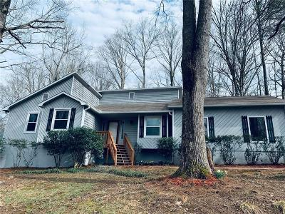 Marietta Single Family Home For Sale: 4752 Forest Valley Place NE