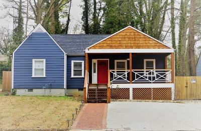 Atlanta Single Family Home For Sale: 1449 Richland Road SW