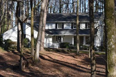 Sandy Springs Single Family Home For Sale: 7415 Twin Branch Road