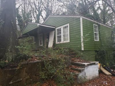 Atlanta GA Single Family Home For Sale: $29,000